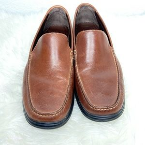 NWOT Cole Haan Brown Leather Loafers